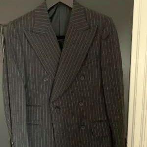 Men's Gucci Pinstripe Suit!